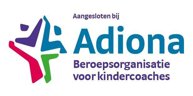 Aangesloten bij Adiona, beroepsorganisatie voor kindercoaches